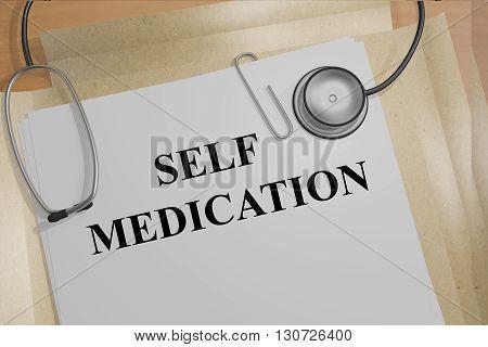 Self Medication Medicial Concept