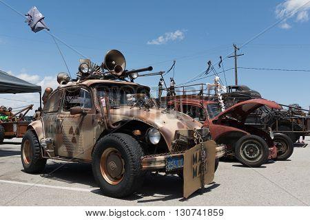 Volkswagen Beetle Post-apocalyptic Survival Vehicle