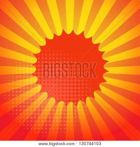 Abstract swirl color background design, vector illustration