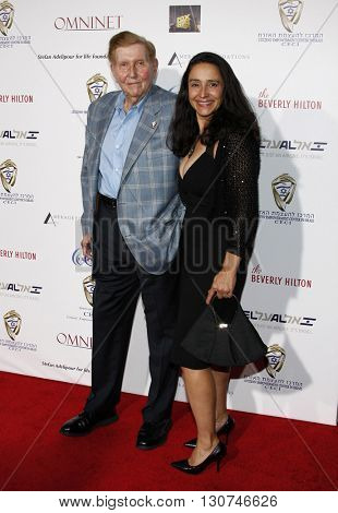 Sumner Redstone at the Hollywood Celebrates 60th Anniversary of Israel held at the Paramount Studios in Hollywood, USA on September 18, 2008.