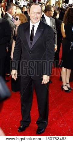 Kevin Spacey at the 60th Primetime Emmy Awards held at the Nokia Theater in Los Angeles, USA on September 21, 2008.
