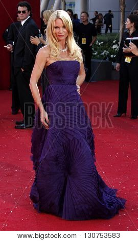 Nicollette Sheridan at the 60th Primetime Emmy Awards held at the Nokia Theater in Los Angeles, USA on September 21, 2008.