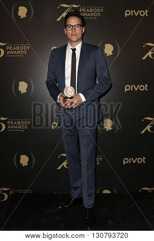 NEW YORK-MAY 21: Director Cary Fukunaga attends the 75th Annual Peabody Awards Ceremony at Cipriani Wall Street on May 21, 2016 in New York City.