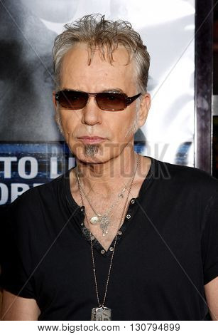 Billy Bob Thornton at the Los Angeles premiere of 'Eagle Eye' held at the Grauman's Chinese Theater in Hollywood, USA on September 16, 2008.