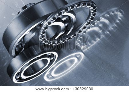 titanium ball-bearings and pinions used for the aerospace industry