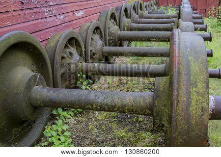 Locomotive Axels