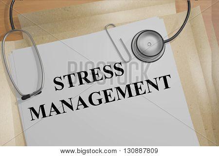 Stress Management Medicial Concept