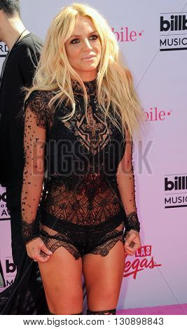 Britney Spears at the 2016 Billboard Music Awards held at T-Mobile Arena in Las Vegas, USA on May 22, 2016.