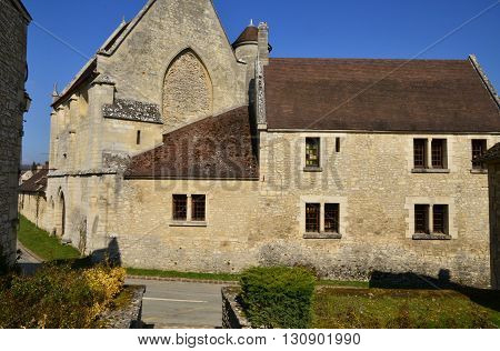 Reilly France - august march 14 2016 : the picturesque village in winter