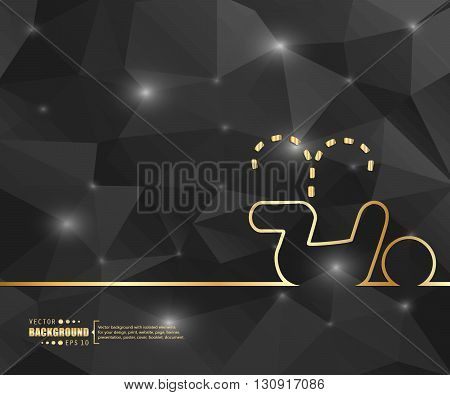Abstract creative concept vector background. For web and mobile applications, illustration template design, business infographic, brochure, banner, booklet, document. poster