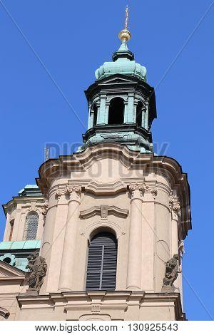 St. Nicholas Church of Mala Strana in Prague