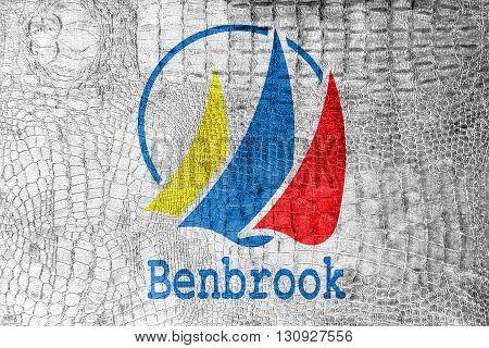 Flag Of Benbrook, Texas, On A Luxurious, Fashionable Canvas
