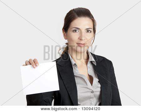 Holding A Cardboard
