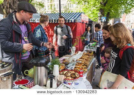 Helsinki Restaurant Day, Street Carnival Of Food