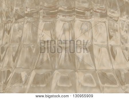 Sand Color Glass Background with Square Pattern