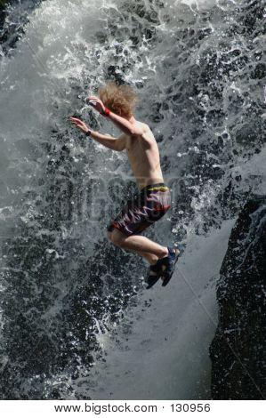 Jumping Waterfall