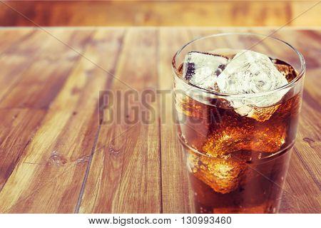 Coke beverage.