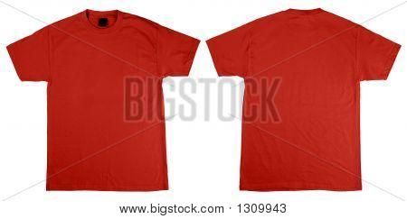 T-Shirt vorn und hinten