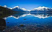Glacier National Park Lake McDonald Montana. Crystal Ford Montana United States poster