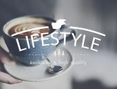 Lifestyle Simplicity Habits Life Concept poster