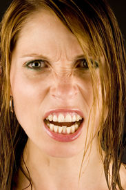 böse Frau