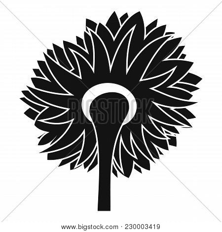 Turning Sunflower Icon. Simple Illustration Of Turning Sunflower Vector Icon For Web