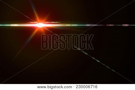 Abstract Beautiful Backgrounds.lens Flare Lights Effects.cross Red Light.nature Flare And Beautiful