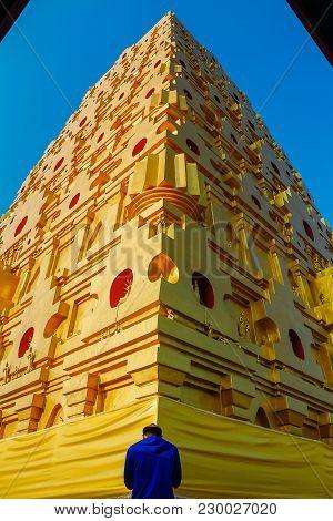 Bodh Gaya, Mahabodhi Temple Sangkhlaburi In Thailand