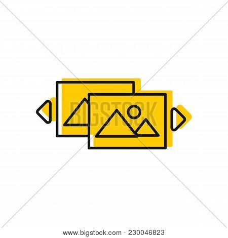 Virtual Reality Icon. Doodle Illustration Of Virtual Reality Vector Icon For Web And Advertising