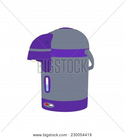 Isolated Electric Kettle Appliance Illustrations Icon Design