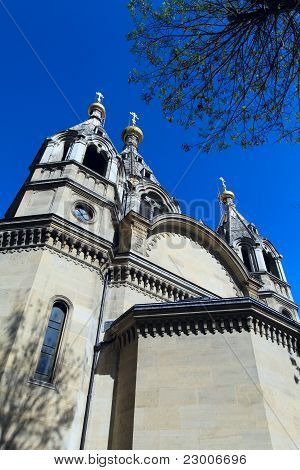 Alexander Nevskiy Cathedral Of Orthodox Church, Paris, France