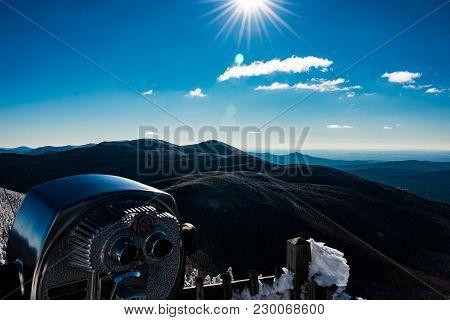 Cannon Mountain In Franconia, Nh Via Hi-cannon, Kinsman Ridge, And Lonesome Lake Trails