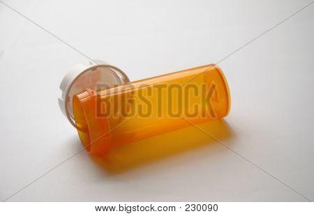 Orange Pill Bottle