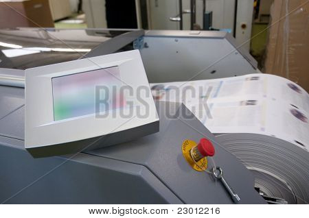 Printing Machine: Digital Web Press