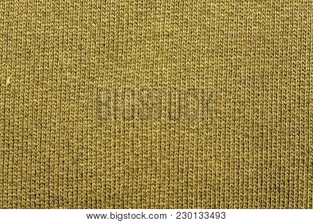 Harvest Gold Texture Cotton Sack Sacking Country Background.