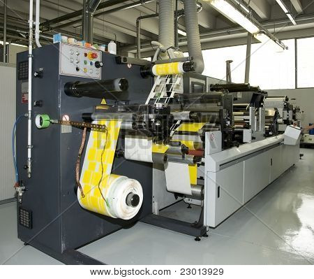 Flexo Press Printing