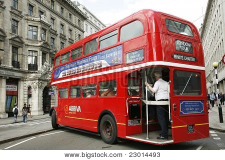London Route Master Bus