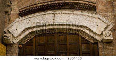 Roman Entrance