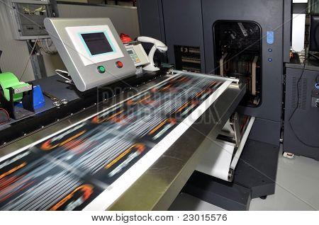 Drücken Sie die Druck - Digitaldrucker für Etiketten