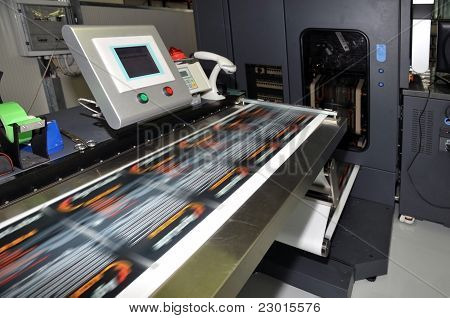 Prensa de impresión - Impresora Digital de etiquetas