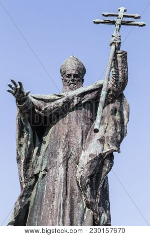Cardinal Lavigerie Statue In Bayonne, South West France