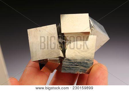 Pyrite Mineral Specimen The Geology Rock Gem