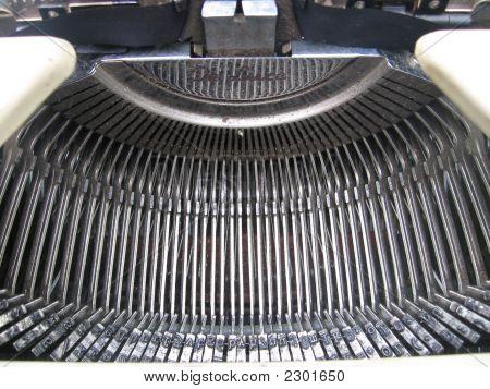 Old Typewriter - Keys