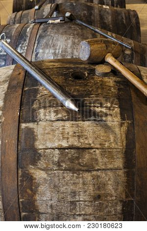 Tools Used  By The Master Distiller For Whisky Sampling Or Quality Control