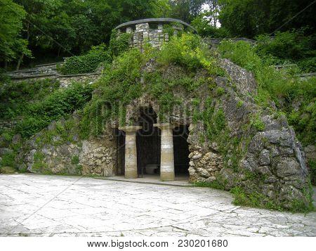 The Dianas Grotto. Flower Park. Pyatigorsk Landmarks The Northern Caucas