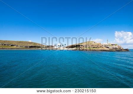 Beautiful Crystal Clear Water In Abrolhos Archipelago, South Of Bahia, Brazil