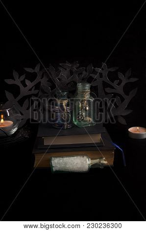 Magical Ingredients For Dark Spells And Rituals. Ongoing Spellwork