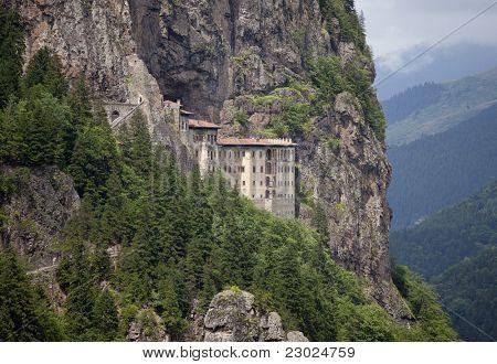 Sumela Monastery in Trabzon Turkey
