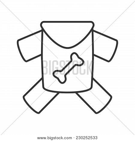 Pet's Clothes Linear Icon