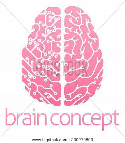 Conceptual Design Of A Human Brain Electrical Computer Circuit Concept Design